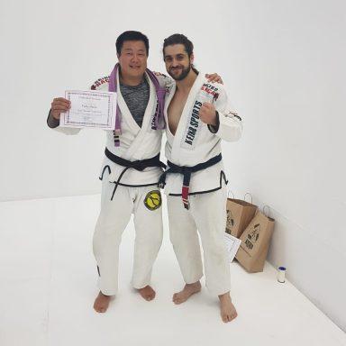 Jiu Jitsu Troca de Faixas 7