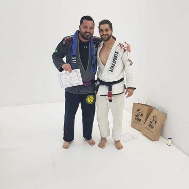 Jiu Jitsu Troca de Faixas 8